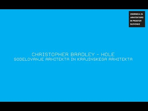 Christopher Bradley Hole : to The essence