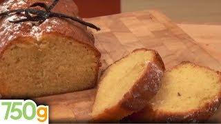 Recette de Quatre-quarts à la vanille - 750 Grammes