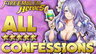 Fire Emblem Heroes - All Confessions!