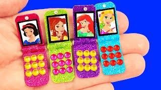 15 DIY Miniature Barbie & LOL Hacks: Lip Gloss, Accessories Set, Camper, Computer, Phone and more