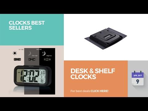 Desk & Shelf Clocks Clocks Best Sellers