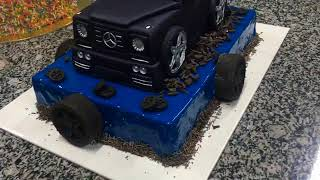 Аветорт - торт Мерседес Гелендваген
