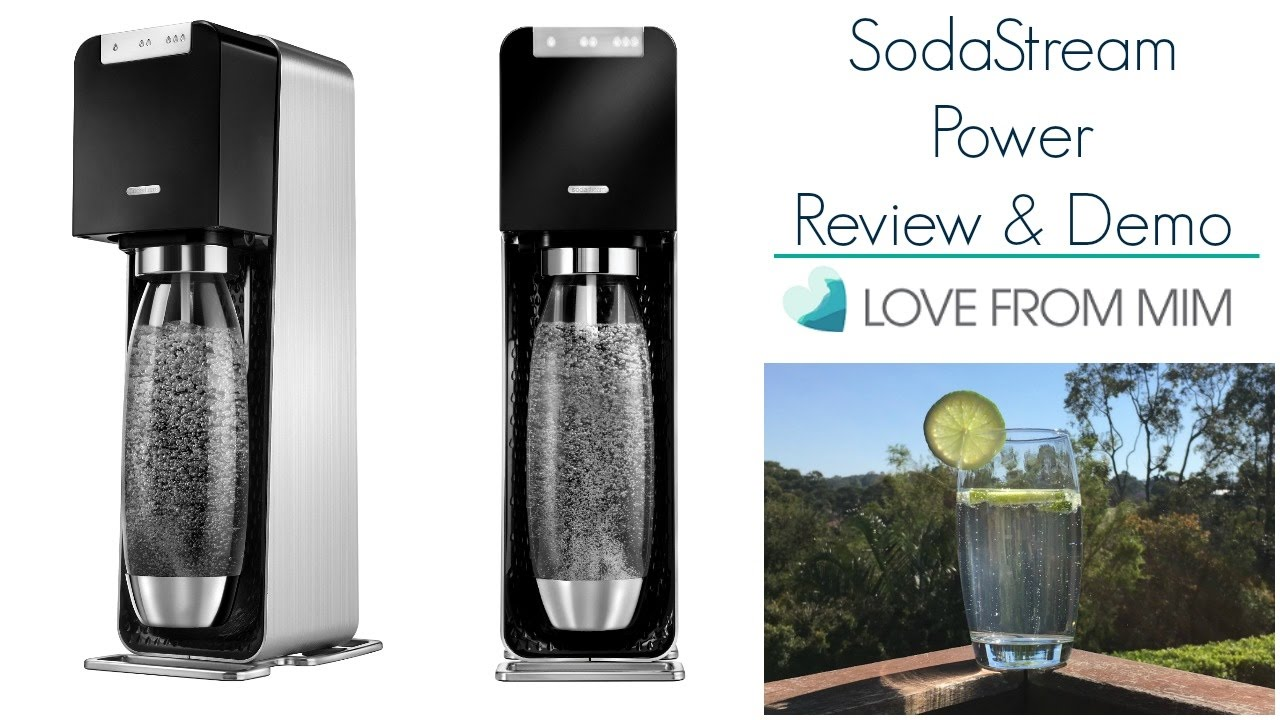 sodastream power review demo youtube. Black Bedroom Furniture Sets. Home Design Ideas