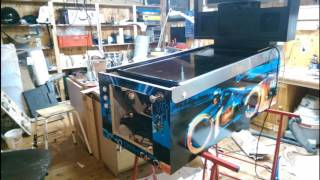 DIY Virtual Pinball machine bulid log