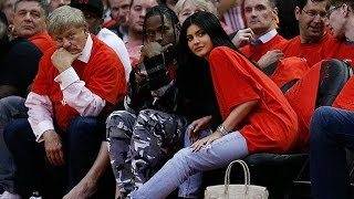 Kylie Jenner Gets PDA Crazy With Travis Scott At Basketball Game