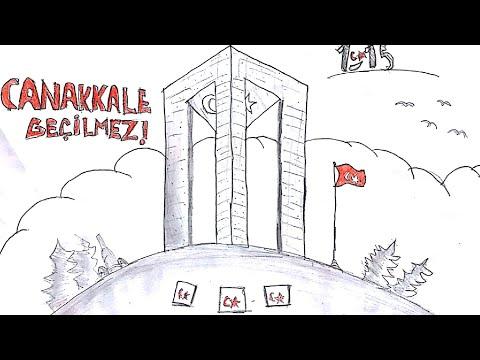 Canakkale Zaferine Ozel Cizim Youtube