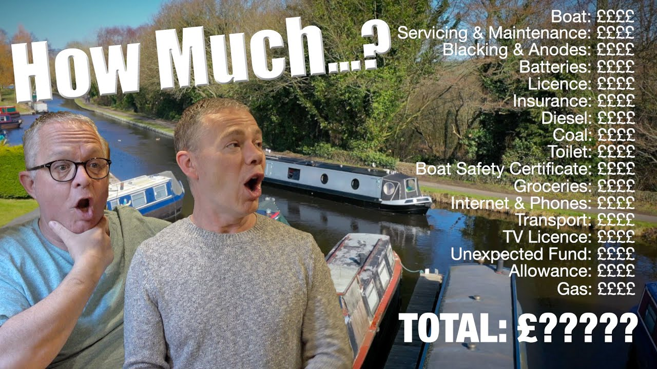 How Much Does It Cost To Live On A Canal Narrowboat?