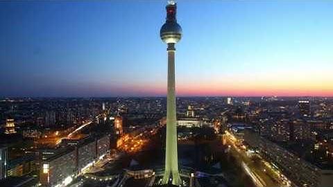 Webcam, Berlin, Fernsehturm, Zeitraffer 10h