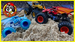 Monster Jam Toy Trucks - Bakugan DRAGONOID 1 HR Compilation (Monster Jam Show FREESTYLE HIGHLIGHTS!)