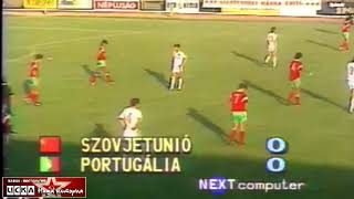 1990 USSR Portugal 0 0 penalty 4 2 European Youth Football Championship U 18 The final