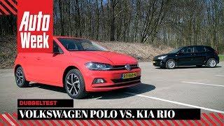 Video Kia Rio vs. Volkswagen Polo - AutoWeek Dubbeltest - English subtitles download MP3, 3GP, MP4, WEBM, AVI, FLV Oktober 2018