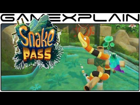11 Minutes of Snake Pass  Gameplay (Nintendo Switch Nindies Showcase)