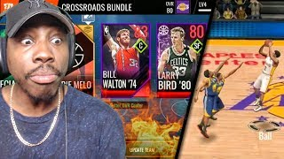 new crossroads pack opening live events sets nba live mobile 18 early gameplay ep 4