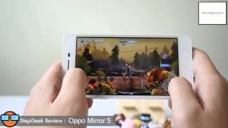 StepGeek SS3 Ep.34 Review OPPO Mirror 5 เน้นกล้องหน้าเหมือนเดิม