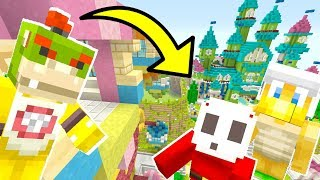 Mario Minecraft - Will Bowser Jr Save His Friends?! [9]