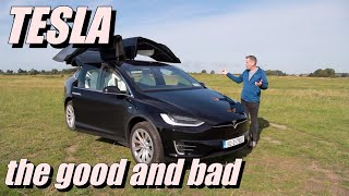 Tesla Model X 2019 - is this the best car with wings? The good and bad of the Electric revolution