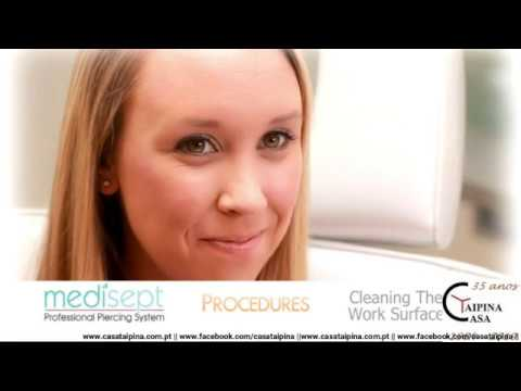 Medisept Nose Piercing How To Use Youtube