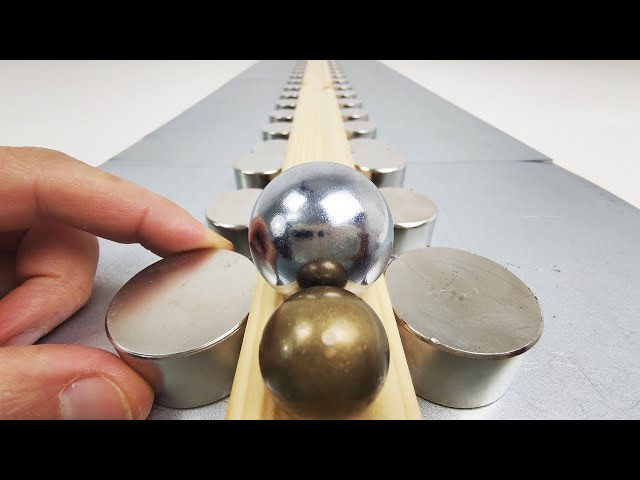 Homemade Railgun | Magnetic Games