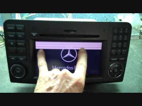 Mercedes benz bose gl car stereo repair 2009 2012 screen for Mercedes benz car radio repair