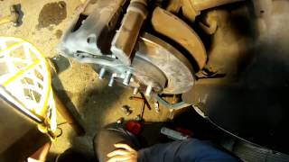 Mondeo Rear Brakes Part 2