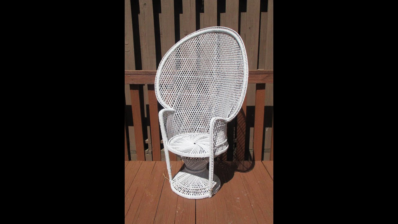 Intro: Choosing Wicker Rattan Chair To DIY Paint W/ Suga Lane