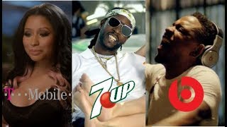 Rappers With The Best Tv Commercial's Part 2 (Kendrick lamar, Vince Staples & More)