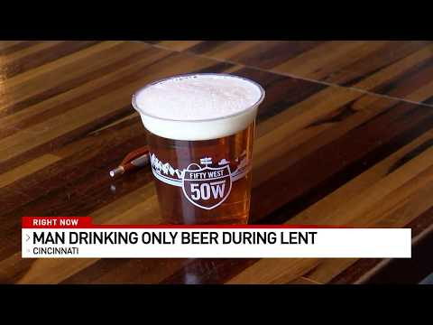 Bill Cunningham - VIDEO: Ohio Man Drinking Only Beer For Lent