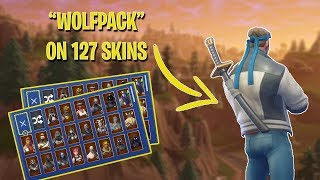"""WOLFPACK"" BACKBLING ON ALL SKINS *127* 