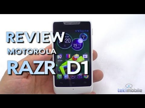 Review Motorola RAZR D1