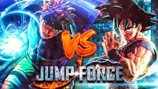 GOKU VS NARUTO! JUMP FORCE