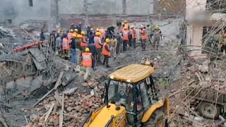 Building collapses in Gurugram, at least five feared trapped