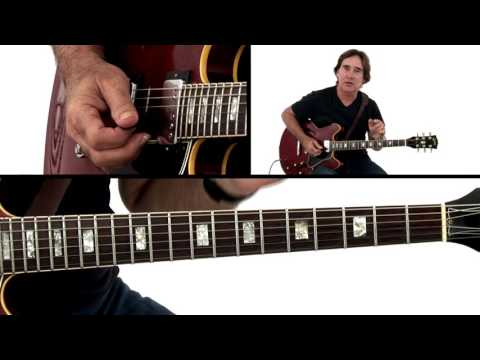 Jazz Rock Guitar Lesson - Sorrow: 1 Breakdown - Carl Verheyen
