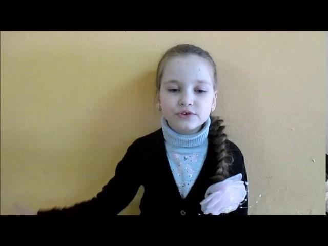 Изображение предпросмотра прочтения – КристинаВласова читает произведение «Чародейкою Зимою…» Ф.И.Тютчева