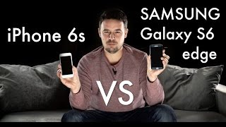 iPhone 6s vs Samsung Galaxy S6 edge #colepsze #1