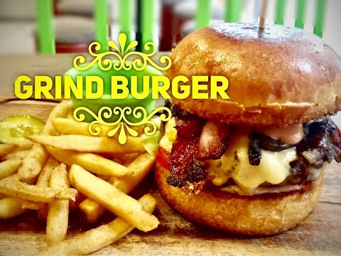 Best Burgers Manila: Grind Burger SM North EDSA The Block by HourPhilippines.com