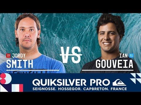 Smith vs. Gouveia - Round Three, Heat 3 - Quiksilver Pro France 2018