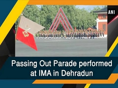 Passing Out Parade performed at IMA in Dehradun - #Uttarakhand News Mp3