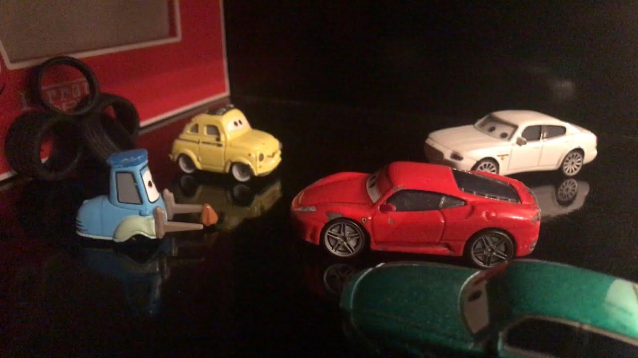 Disney Pixar Cars Michael Schumacher Ferrari Scene Remake Youtube