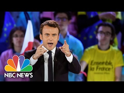 Emmanuel Macron: France's Youngest Leader Since Napoleon Tougher Than You Think | NBC News