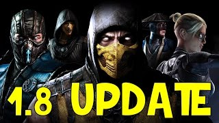 1.8 UPDATE | Mortal Kombat X (iOS/Android)