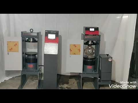 Fully Automatic CTM (compression Testing Machine)