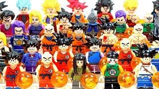 40 Dragon Ball 超サイヤ人 Sūpā Saiya-jin Goku Krillin Vegeta Broli Unofficial LEGO Minifigures