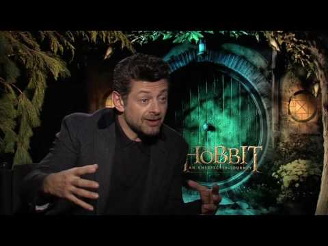 Interview Andy Serkis  - The Hobbit