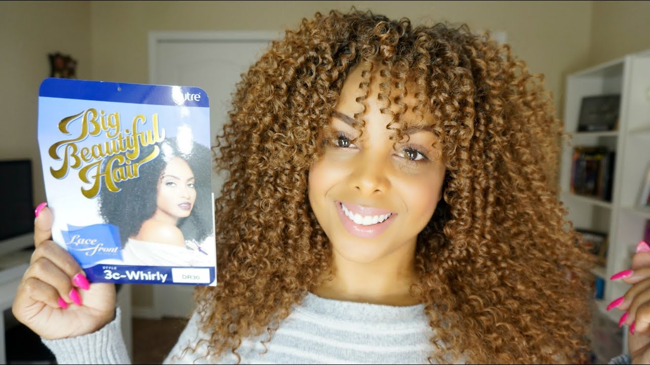 Natural Wig Outre 3c Whirly Big Beautiful Hair Youtube