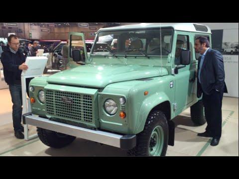 Worksheet. Land Rover Defender 90 Heritage Edition 2015 In detail review