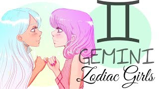 ZODIAC GIRLS || GEMINI ♊️  (May 21 - June19)
