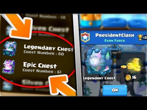 Know Your Next Chest! Clash Royale New Legendary Chest