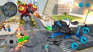 Real Robot Car Transforming Wild Rhino Games (By White Sand - 3D Games Studio) Gameplay HD