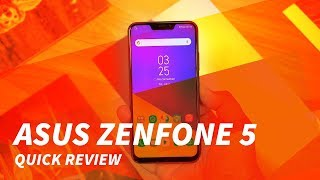 Asus Zenfone 5 (2018) Quick Review - #Backto5 and AI-Powered