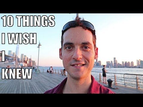 10 Things I Wish I Knew Before Moving To New York City (Manhattan) !
